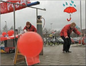 2006 - Storm en wind viel ons ten deel op de verkiezingsmarkt