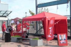 2012 - Onze 'Rode Burcht' deed zijn intrede