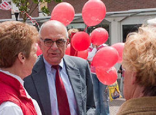 2010 - op 13 mei was Jan Pronk te gast in Hellevoetsluis