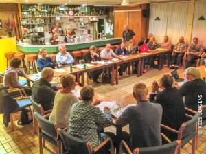 De vergadering werd druk bezocht!