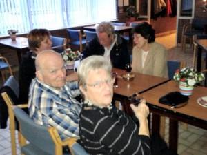 Judith, Huib, Anneke Leen en Corrie