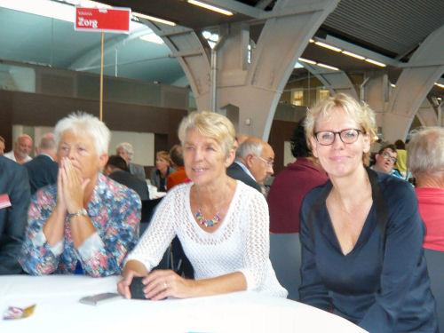 Marleen Barth, fractievoorzitster PvdA eerste Kamer leidt het debat over Zorg...