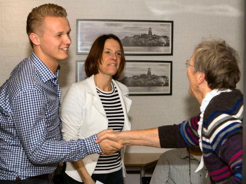 Jeroen en Annemieke zijn nu officieel bestuurslid. En ze hebben er zin in!