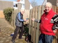 Goof en Daan aan het werk voor NL.Doet 11 april 2016