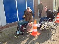 Goof en Daan rolstoelers