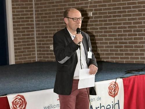 De nieuwe voorzitter van PvdA Voorne, Bert van Ravenhorst, aan het woord...